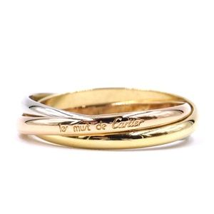Tricolor 18k Trinity Size 54 6.25 Ring